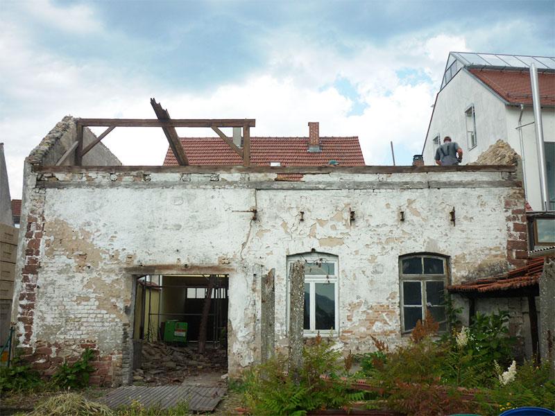 Gut bekannt Abriss einer Scheune und Neubau - gmp Planungsbüro NF89